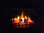 The fabulous fireplace!