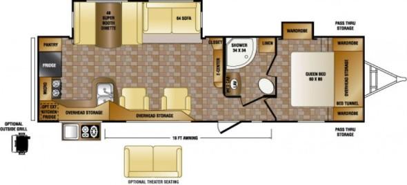 Trailer Floor Plan