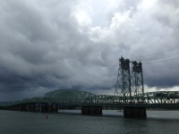 Bridge over the Columbia River between Portland, OR and Vancouver, WA