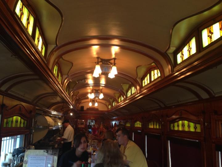 Inside Frank's Diner