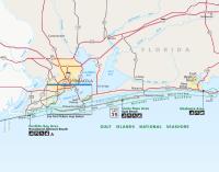 Florida Gulf Islands National Seashore Map