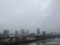 Downtown Little Rock on the Arkansas River