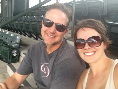 At a Rockies Baseball Game